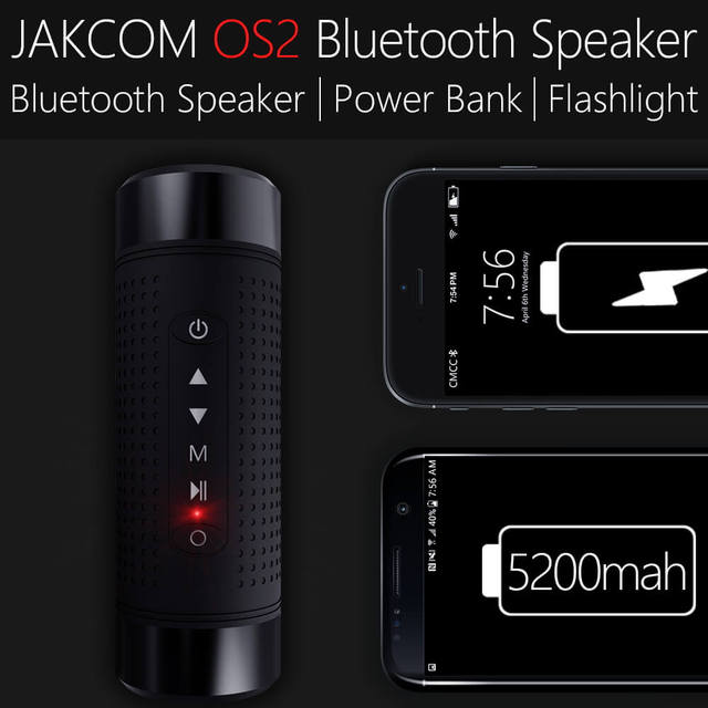 Jakcom OS2 Outdoor Bluetooth 5200mAh Battery Fast Charge Quick Charger Type-C for Android and IOS with FM Radio Light
