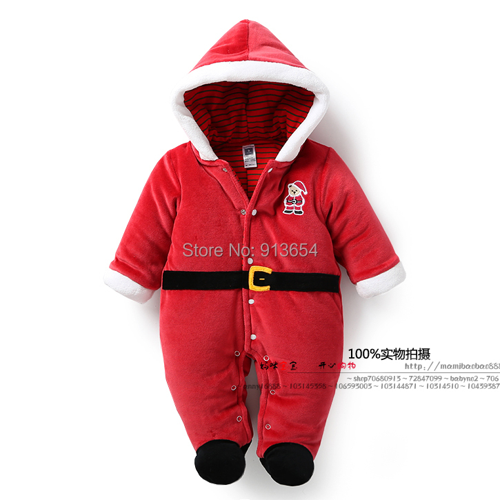 new 2016 autumn winter romper baby boy clothes infant Christmas cotton rompers baby girls warm jumpsuit newborn baby costume cotton baby rompers set newborn clothes baby clothing boys girls cartoon jumpsuits long sleeve overalls coveralls autumn winter