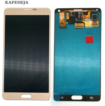 Super AMOLED LCD Display For Samsung Galaxy Note 4 N910 N910F N910C N910V LCD Display Touch Screen Digitizer Assembly