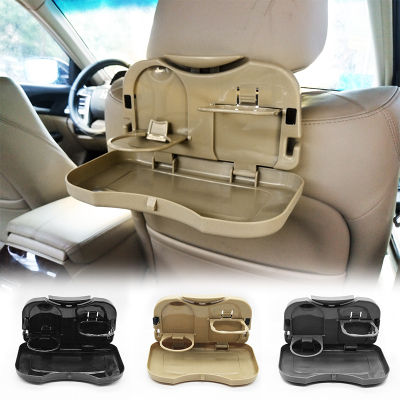 OHANNY Car Seat Back Drink Holder Food Tray Folding Dining Table Pallet Water Cup In Drinks Holders From Automobiles Motorcycles On