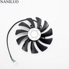 85mm 4pin HA9010H12SF-Z RX460 4 GB Cooler Fan para Substituir ITX MSI Inno3D P106 960 GeForce GTX 1060 AERO 3G 6G OC placa de Vídeo