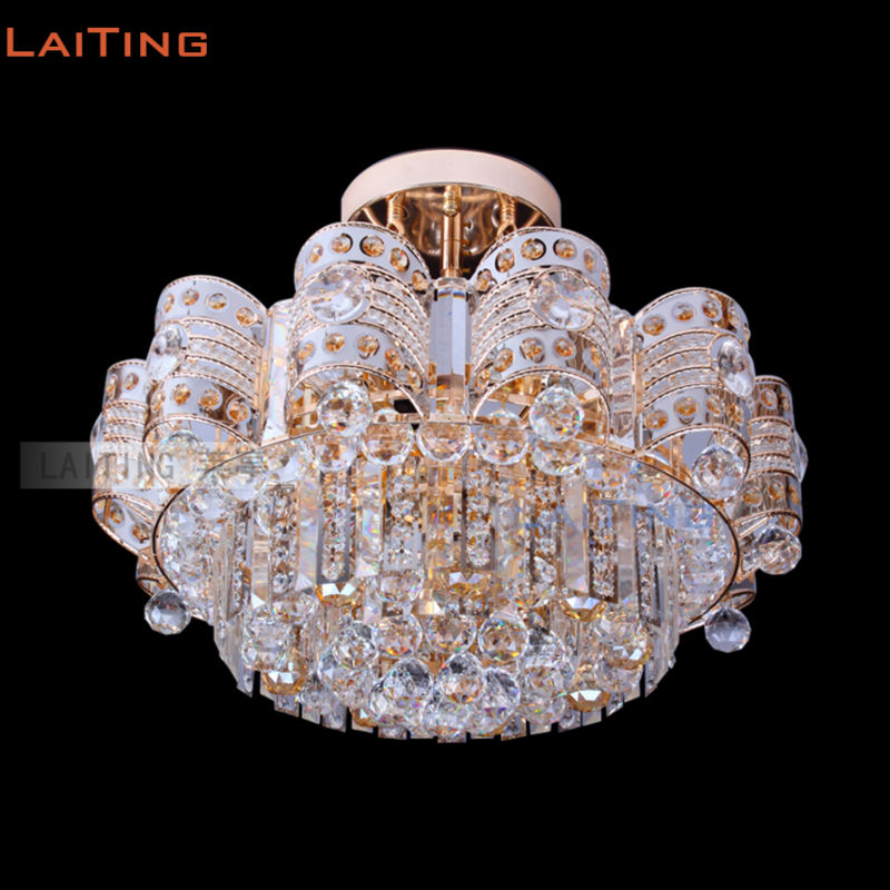 Beste Directe Verkoop Luxe Traditionele Indiase Stijl Kristal Plafond KJ-71
