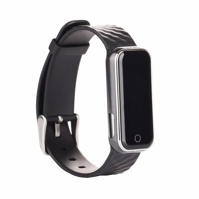QS QS50 Pulseira Monitor de Freqüência Cardíaca Smartwatch inteligente 50 Inteligente da Frequência Cardíaca Relógio Do Esporte Pulseira de Silicone Pulseira Com Rastreador