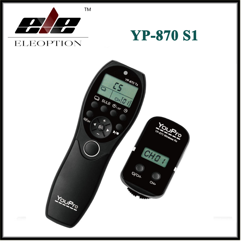 YouPro YP 870 S1 Camera Wireless Shutter Timer Remote Control for Sony Alpha DSLR A900 DSLR