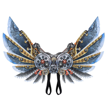 Accessories Easter Stage Fancy Vintage Steampunk Gear Cosplay Christmas Cyber Costume Masquerade Party Halloween Wings Gift