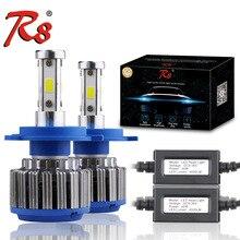Z4 Série R8 Auto de Boa Qualidade LED Auto Farol Kits de Conversão H4 H13 9004 9007 Hi/Lo Lâmpadas 40 w 4000LM Super Bright 6500 K