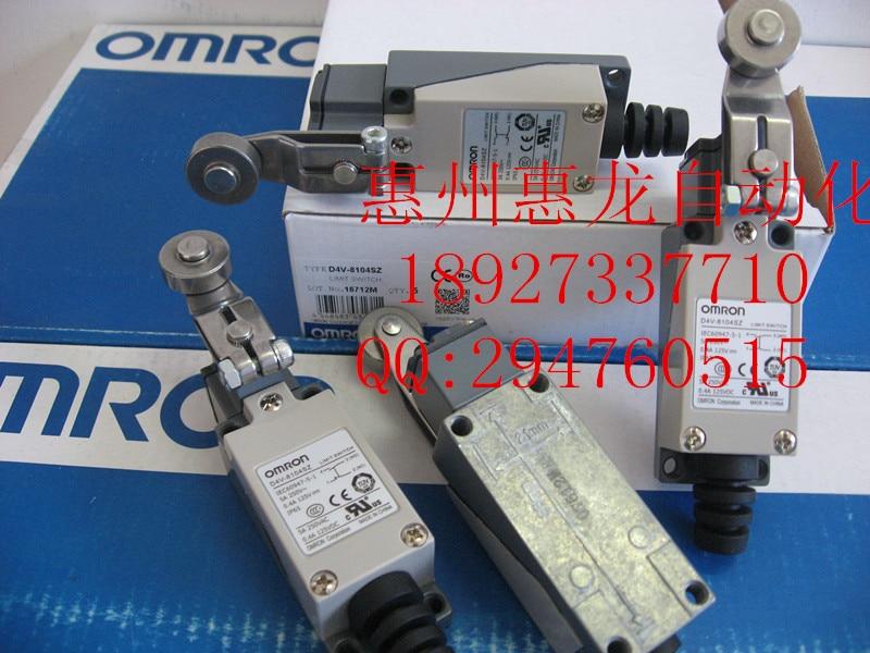[ZOB] 100% new original OMRON Omron limit switch D4V-8104SZ  --5PCS/LOT [zob] 100% brand new original authentic omron omron limit switch wlnj q 5pcs lot