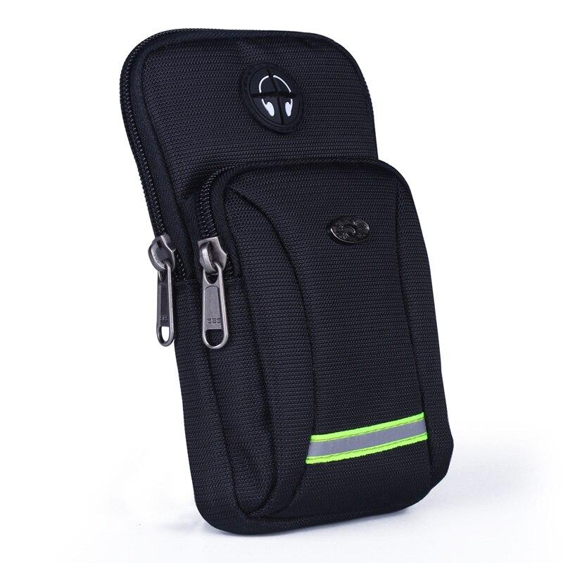 2017 Men Women Waterproof Oxford Waist Pack Molle Hook Multifunction Armband Belt Bags Purse Pouch Small Shoulder Messenger Bags