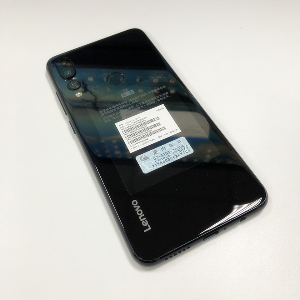 Original Lenovo Z5S L78071 Cell Phone Octa-core AI Three Cameras Snapdragon  710 ZUI 10 0 4G FDD LTE 6 3
