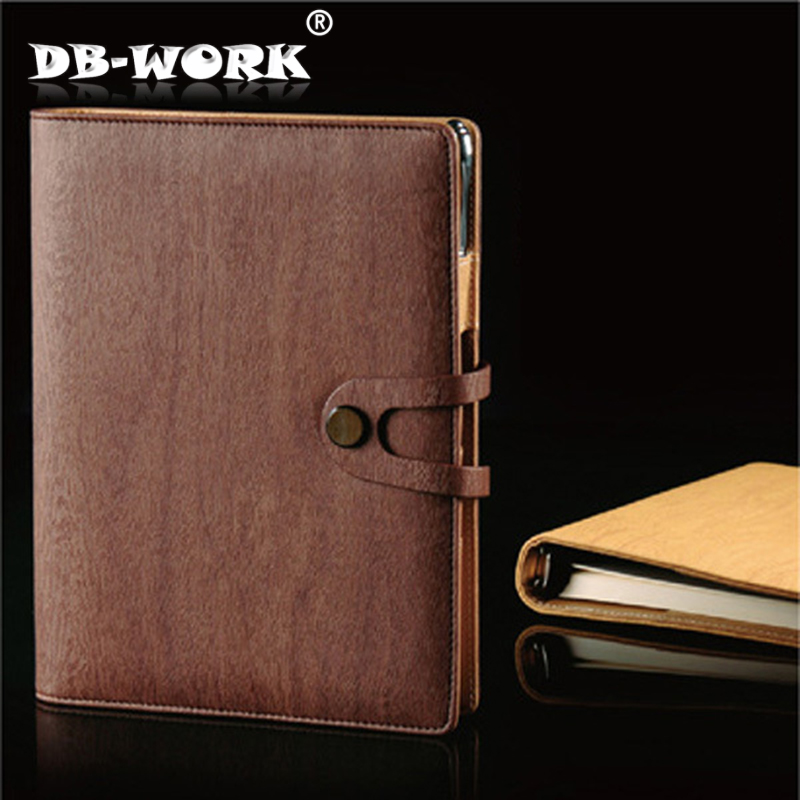 2018 High Quality Beautiful A5 Spiral  Business notepad loose-leaf notebooks High-grade creative advertising gift diary book