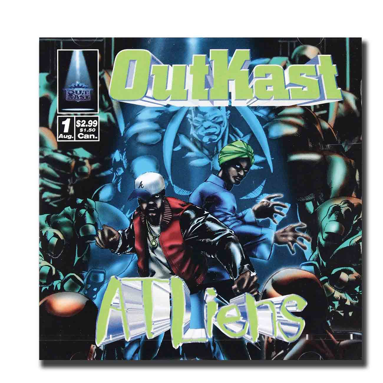 Music Album Hip Hop Outkast custom12x12 24x24 27x27Art silk Poster Wall Canvas Print Modern Wall Decoration image