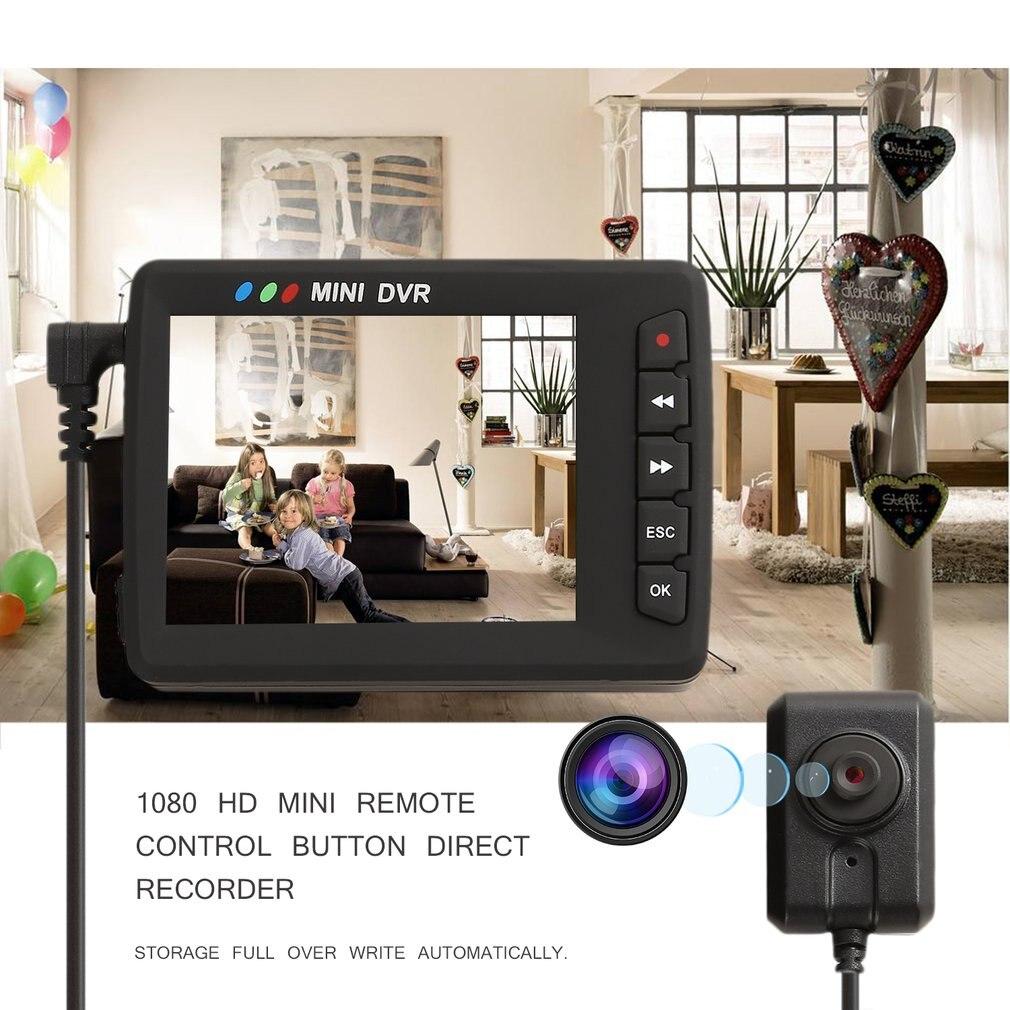 цена на KS-750A 1080P High Definition 2.4 Inch LCD Screen Display Mini DVR With KS-303 Camera and Remote Control Max 32GB TF Card
