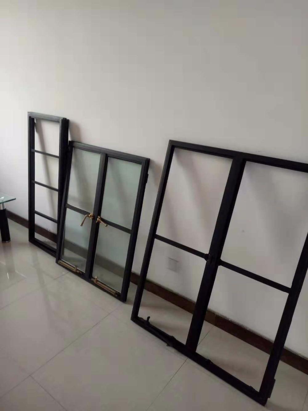 Black Front Door Hollow Metal Doors Residential Steel Doors And Frames