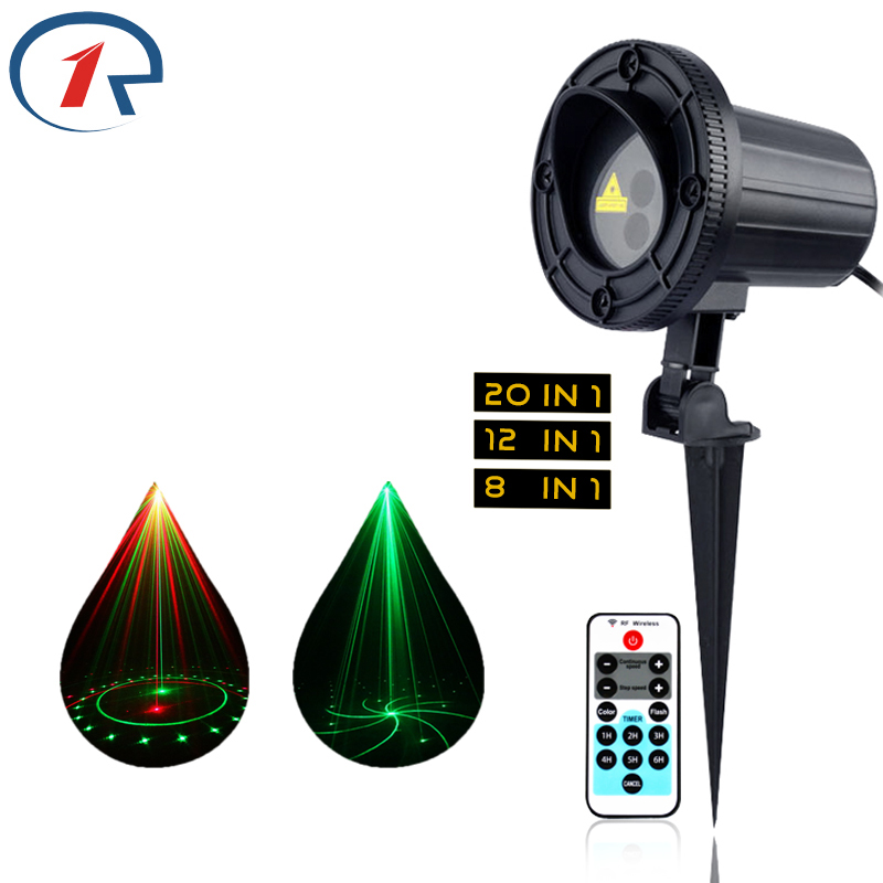 ZjRight IR Remote Red Green dynamic Christmas star lights Outdoor laser Waterproof party act garden lights Bar dj disco lighting zjright laser light ir remote red green christmas lights outdoor waterproof garden lamp park party bar dj disco halloween lights