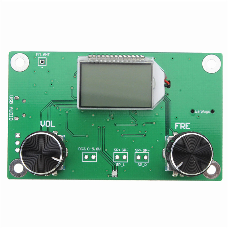 DSP /& PLL Digital Stereo FM Radio Receiver Module 87-108MHz with Serial Control