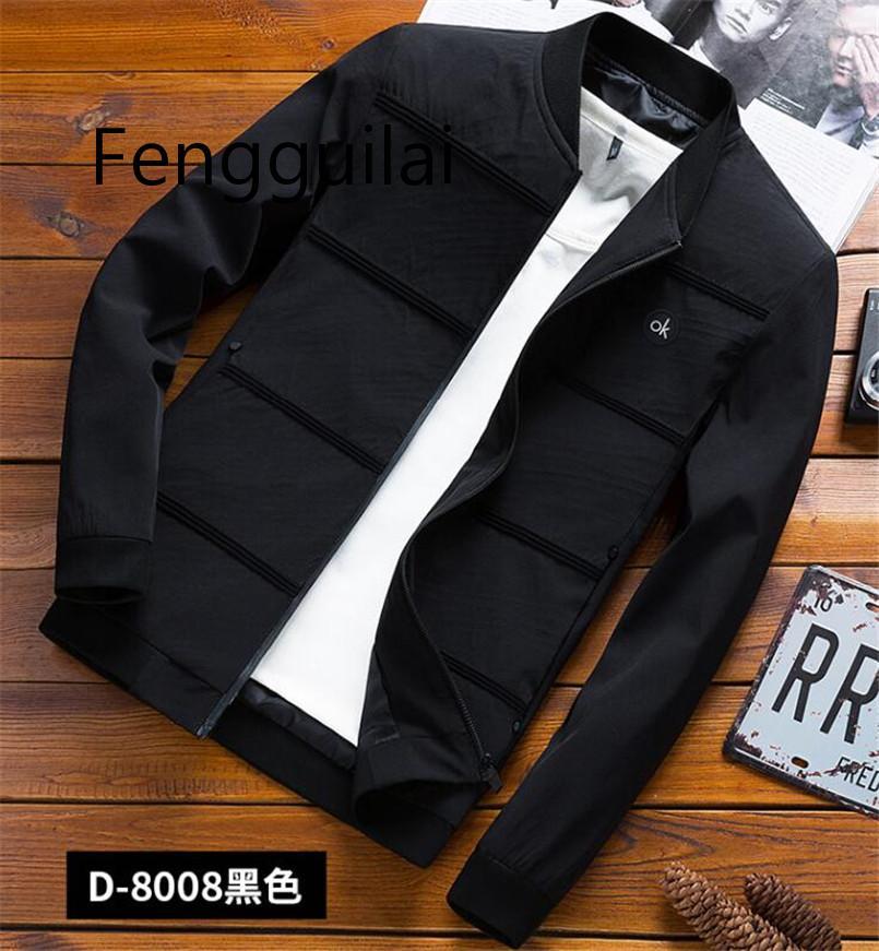 2019 вскользь пальто мода мужчины куртка бомбардировщик хип-хоп патч конструкции Slim Fit пилот бомб