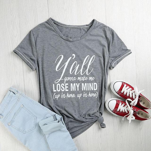 LOSE MY MIND T-SHIRT