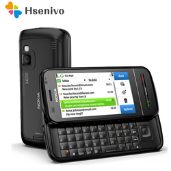 Оригинальный мобильный телефон Nokia, 3,2 дюйма, GSM, 3G, Wi-Fi, GPS, 8 Мп, 1 год гарантии, бесплатная доставка