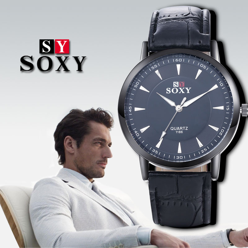 2018 men's sports leisure watch Top Brand fashion watch quartz watch - Men's Watches