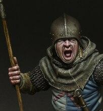 1/10 เรซินหน้าอกชุดประวัติศาสตร์โบราณหอกทหารหน้าอกเกมบทบาท Unpainted X98