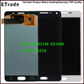 Warranty 100% New For Samsung A5 A5000 A500 LCD Touch Screen Digitizer Assembly A5 2016 A510F A510M A510FD A510 LCD Replacement