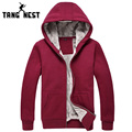 TANGNEST Autumn Winter Casual Men Hoodie Thick Comfortable Men Hoodies Hooded Plus 6 Solid Colors Size XXXL Sweatshirt MWW1114