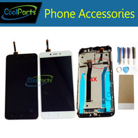 1PC Lot High Quality 5 0 For Xiaomi Redmi 4X LCD Display Touch Screen Digitizer With