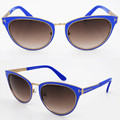 Fashion trend 2016 new style Brand Fashion Designer square women sunglasses TOM FOR TF0373 The metal binding brand sun glasses