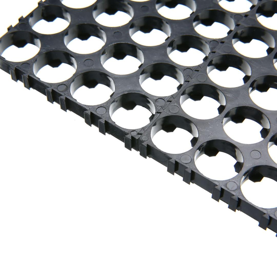 Onsale 10Pcs 4x5 Cell Battery Spacer 18650 Battery Radiating Shell Pack Plastic Heat Holder Bracket