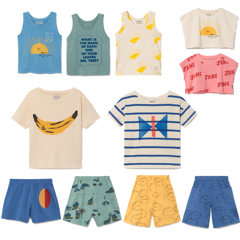 76f5ad7d2 Pre-Sale BOBO T-shirts For Baby Boys Cotton T shirt Girls Tops bobo choses  2018 ...