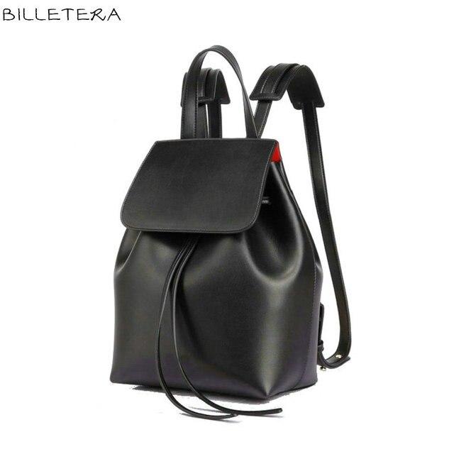 Fashion Women Bucket Backpack School Backpack Design Women Ladies Drawstring Bucket Schoolbag for Teenagers