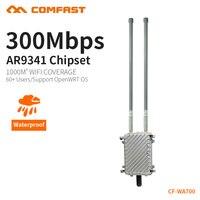 COMFAST открытый WI FI маршрутизатор для WI FI покрытие проект 300 Мбит/с беспроводной AP 2.4 ГГц непромокаемые из дверей точка доступа cf wa700