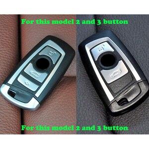 Image 2 - 50 יח\חבילה סיליקון מפתח fob כיסוי case shell עבור BMW F10 F20 F30 Z4 X1 X3 X4 M1 M2 m3 E90 1 2 3 5 7 סדרת מרחוק keyless
