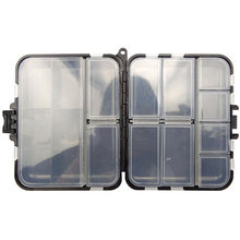 Hyaena 26 Compartment Carp Fishing Tackle Fishing Box Bait Lure Storage Case Silicone Karper Pesca Takcle Box(China)