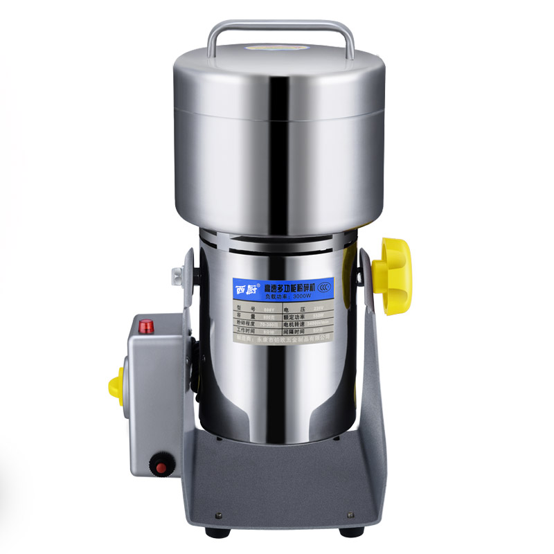 800g stainless steel Grains grinder Household electric Coffee mill Superfine Powder machine Grinding machineXC-800Y household stainless steel medicinal powder broken machine small superfine grinder whole grains bean milling blender