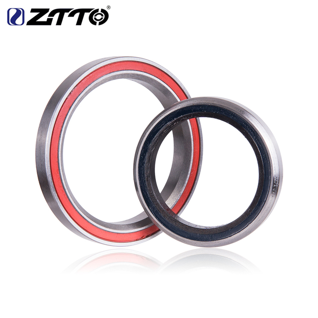 """ZTTO Bicycle Headset 4444T MTB 44mm ZS44 EC44 CNC 1 1/8""""-1 1/2"""" Straight Tube Frame to Tapered Tube Fork 1.5 Adapter Headset"""