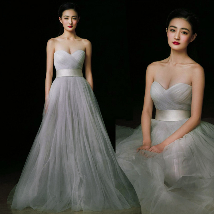 Vestidos Cheap Sweetheart Pleats Backless A-line Long Prom Dresses  Evening Party Gowns New Brides Maid Of Honor