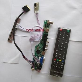 "kit for LP154WP3-TLAV 1440X900 15.4"" TV AV HDMI USB 40pin LVDS Screen panel Controller board driver LCD LED remote VGA"