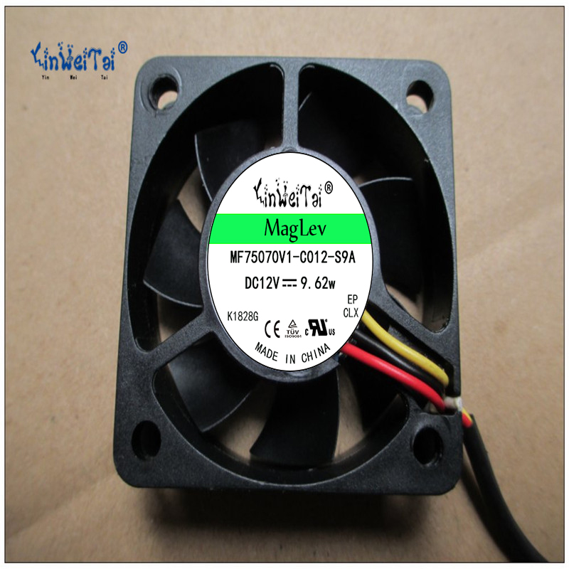 Original sunon KD1205PHS2 5015 12V 1.7W 2 lines 5CM 50 50 15mm cooling fan