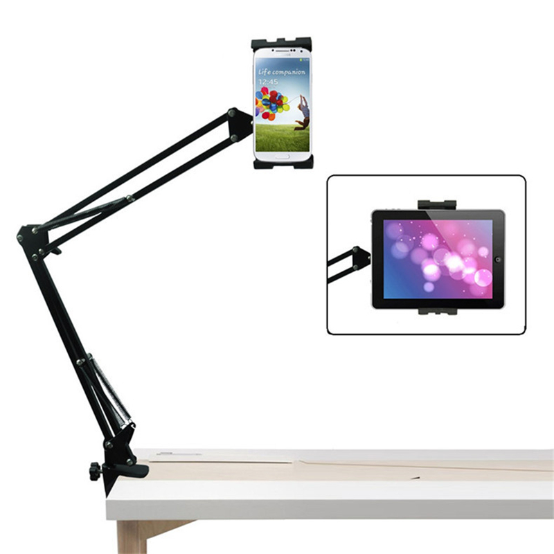 universal flexible tablet stand holder for ipad 234 mini tablet holder bed desktop tablet mount for