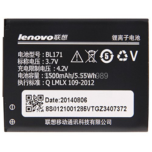 1PCs 1500mAh Full Capacity Original battery For Lenovo A319 A60 A500 A65 A390 A368 A390T BL171 Phone + Tracking Code