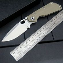 Portable EDC Tool ST-2 Tactical Survival Folding Pocket Knife 8Cr13Wov 56HRC Blade G10 Handle Camping hunting Tools