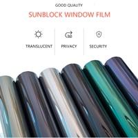 Mirror Surface Sticker Protect Privacy Anti Uv Security Self Adhesive Window Glass Film Car Window Film
