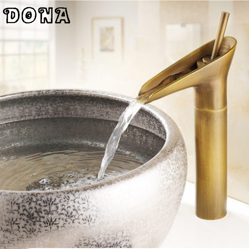 Free Shipping Deck Mounted Single Lever Antique Faucet Bathroom Basin Faucet Antique Brass Bathroom Faucet Mixer Tap DONA4033C нож беркут кизляр