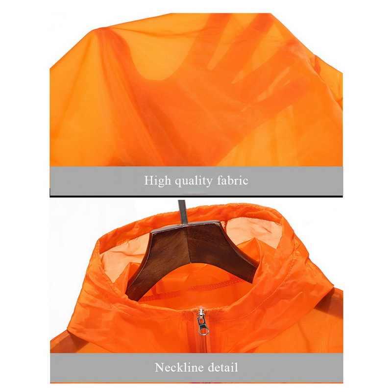 Aisputent 2019, женские, мужские, на молнии, одноцветные, с капюшоном, защита от солнца, топы, легкие, дышащие, на каждый день, быстро сохнут, куртка для бега, одежда