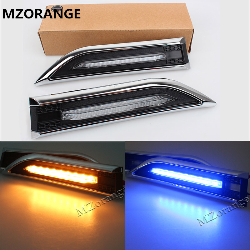 Car LED Turn Light Steering Lamp LED Side Light For Chevrolet Cruze Sedan Hatchback Side Marker Turn Signal Lights Auto LED Lamp купить
