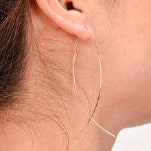Copper Fish-Shaped Earrings Simple Personalized Copper Fish-shaped Handmade Earrings Metal Women Earring