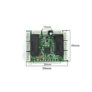 Image 3 - ミニモジュールデザインイーサネットスイッチ回路ボードのためのイーサネット · スイッチ · モジュール 10/100 mbps 8 ポート PCBA ボード OEM マザーボード