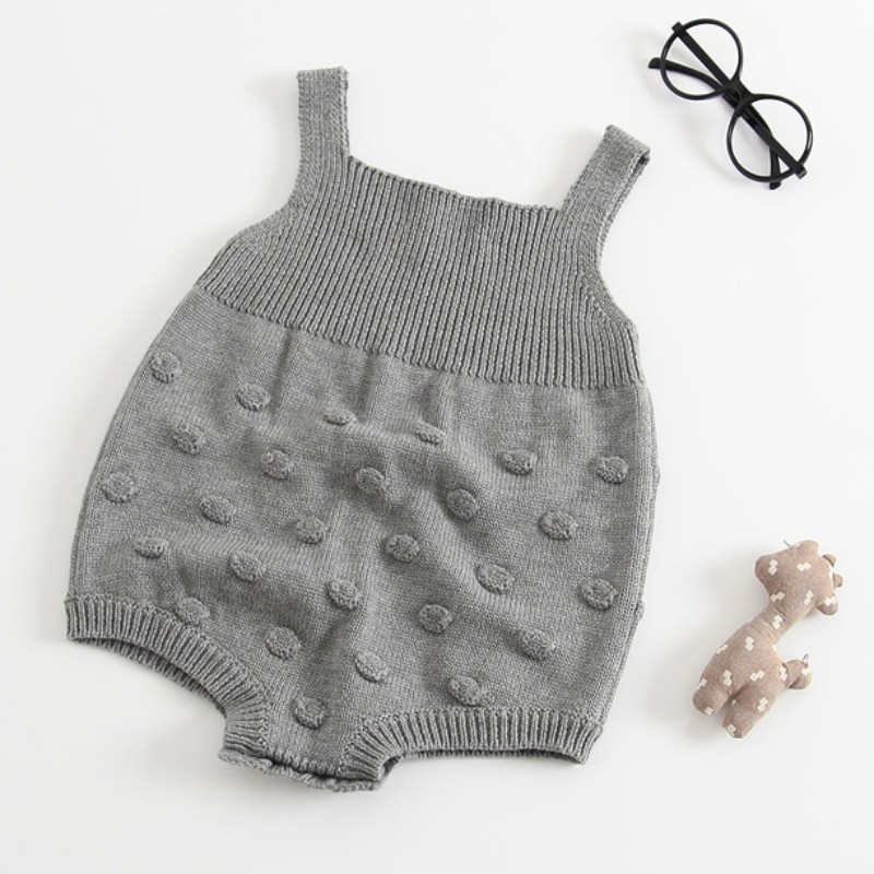 HTB1UjyuhgoQMeJjy0Foq6AShVXae Baby Romper Set Infant Jumpsuit Overall Sleeveless Baby Boys Clothing Autumn Knitted Girls Baby Casual Clothes