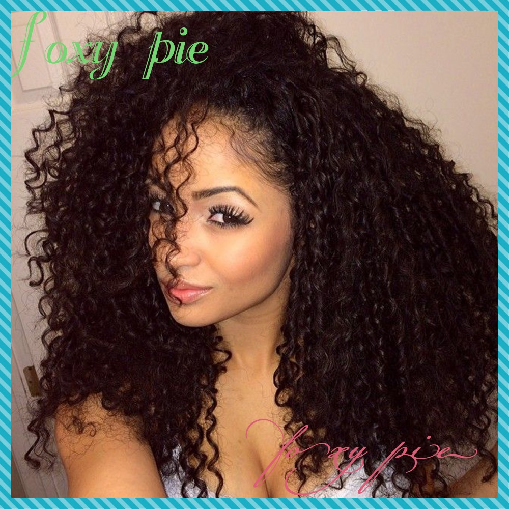 Malaysian kinky curly full lace wig human hair glueless curly lace front  wigs for african american wigs on Aliexpress.com  f4a80d48418c